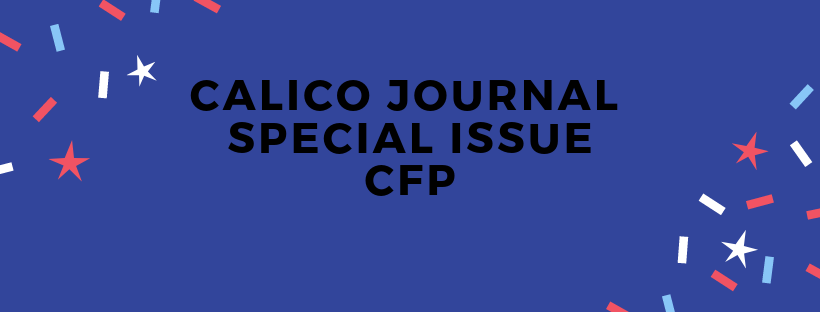 Call for Proposals, Journal Special Issue