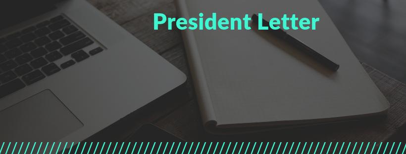 Fall 2019 President Letter