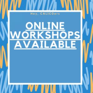 Winter Workshops – January 2021