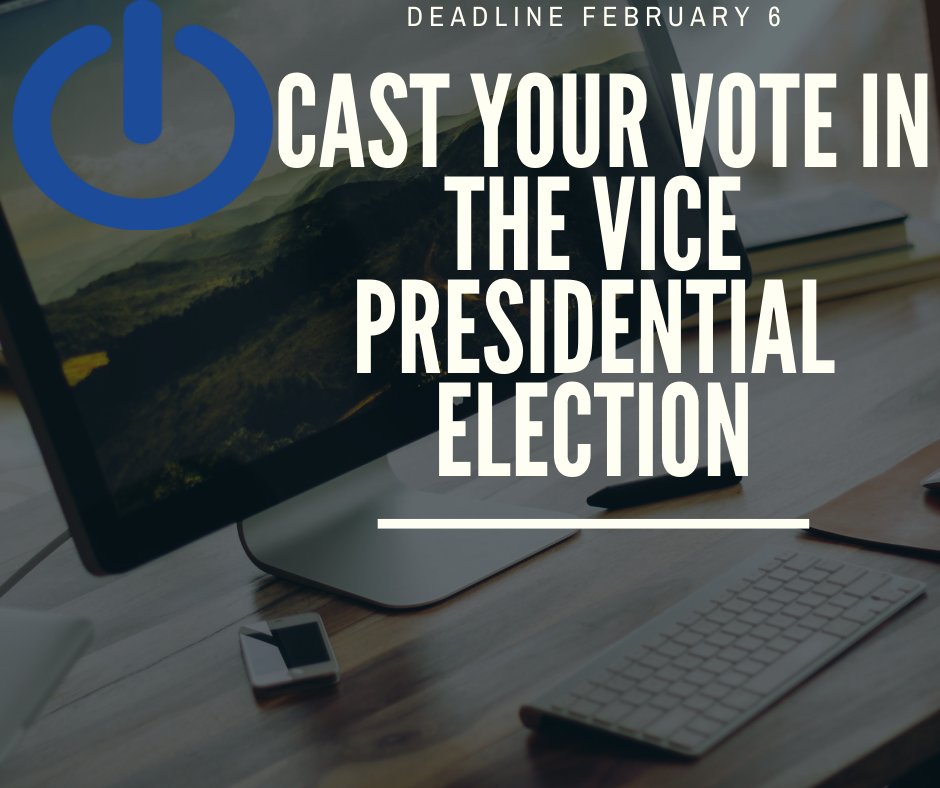 Cast Your Vote, Vice President